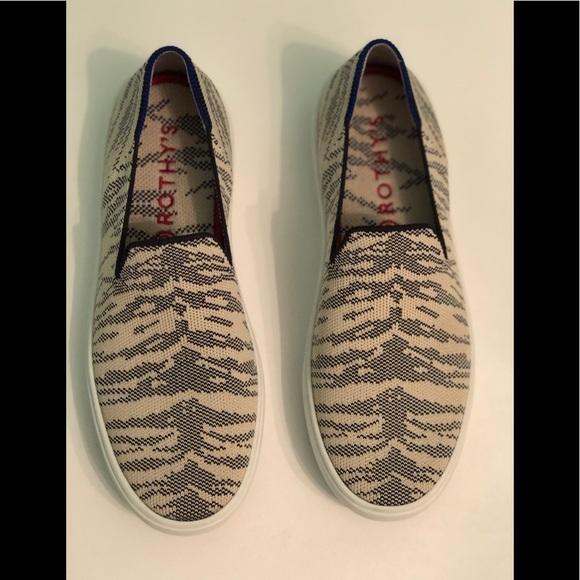 Rothys Maritime Tiger Slipon Sneaker